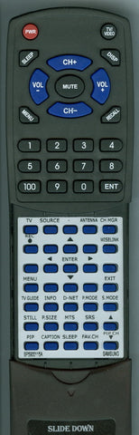 SAMSUNG HLS5679 Replacement Remote