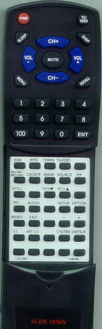 COMPATIBLE CRCT9810 Replacement Remote
