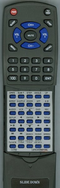 CURTIS INTERNATIONAL DCR1AC24 Replacement Remote
