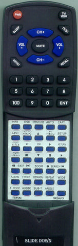 PHILIPS RTES06105A Replacement Remote