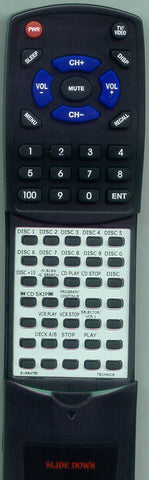 PANASONIC EUR64760 Replacement Remote