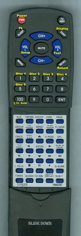 PANASONIC EUR7623XDO Replacement Remote
