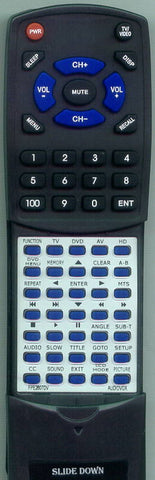 AUDIOVOX RTFPE2607DV Replacement Remote