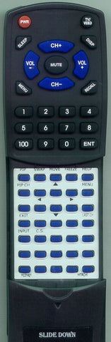HITACHI CLU431UG Replacement Remote