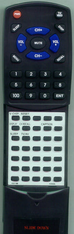 KONKA KKY199PINAPL-BBERRY Replacement Remote