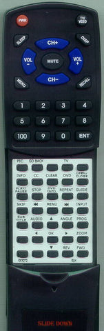 KLH KKY272 Replacement Remote