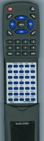 CURTIS INTERNATIONAL LCD2622A Replacement Remote