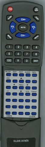 CURTIS INTERNATIONAL LCD1105A Replacement Remote