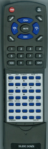 SAMSUNG DSR3800 Replacement Remote