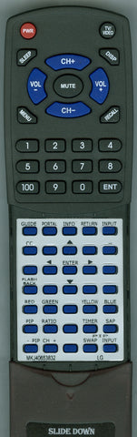 LG 42LD660H Replacement Remote