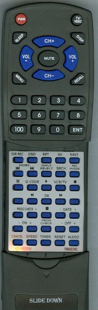 PANASONIC AG1350P Replacement Remote