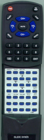 SYLVANIA N9291UD Replacement Remote