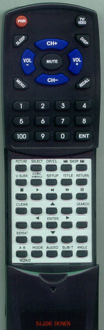 SYMPHONIC RSMSD520FE Replacement Remote