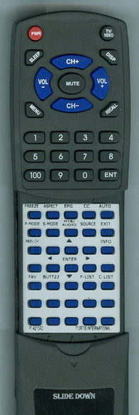 CURTIS INTERNATIONAL RTPL4210A2 Replacement Remote