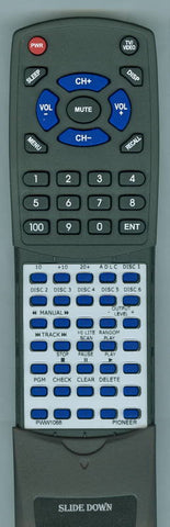 PIONEER PDM801 Replacement Remote