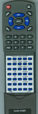 CLARION ARX9270 Replacement Remote
