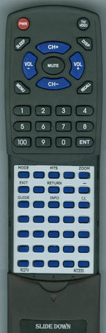 ACCESS-HD- RCDTV Replacement Remote