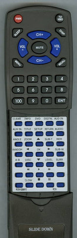 RCA RTD3276H Replacement Remote