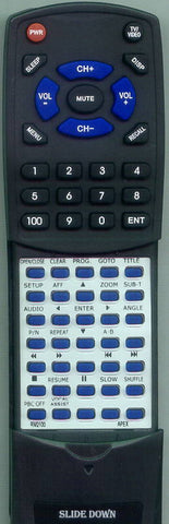 APEX RM2100 Replacement Remote