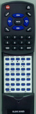 JVC- CAHXZ1U Replacement Remote