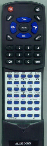 JVC RMSRVNB1AW2 Replacement Remote