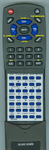 JVC RTRMSTHS33J Replacement Remote