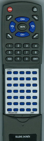 SHARP 25MT57 Replacement Remote