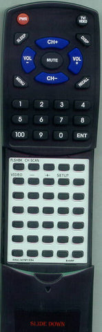 SHARP 13AM100 Replacement Remote