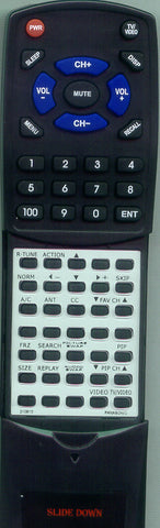 PANASONIC EUR57755G Replacement Remote