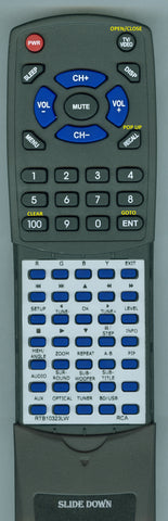 RCA RTRTB10323LW Replacement Remote