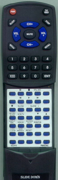 PANASONIC AG1970 Replacement Remote