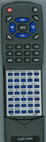 PIONEER VSX84TXVI MAIN Replacement Remote