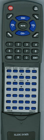 HANNSPREE BOSTON RED SOX Replacement Remote