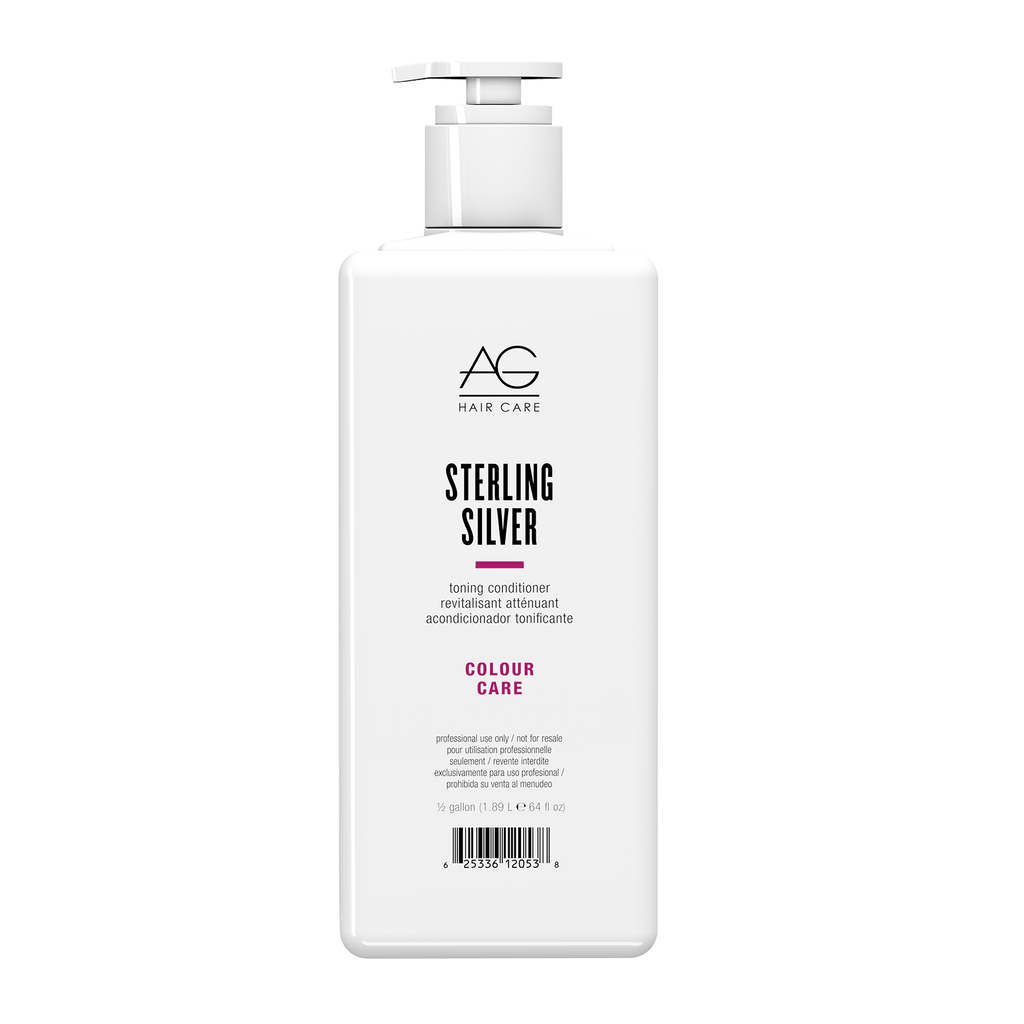 AG Hair Sterling Silver Conditioner 1/2 Gallon