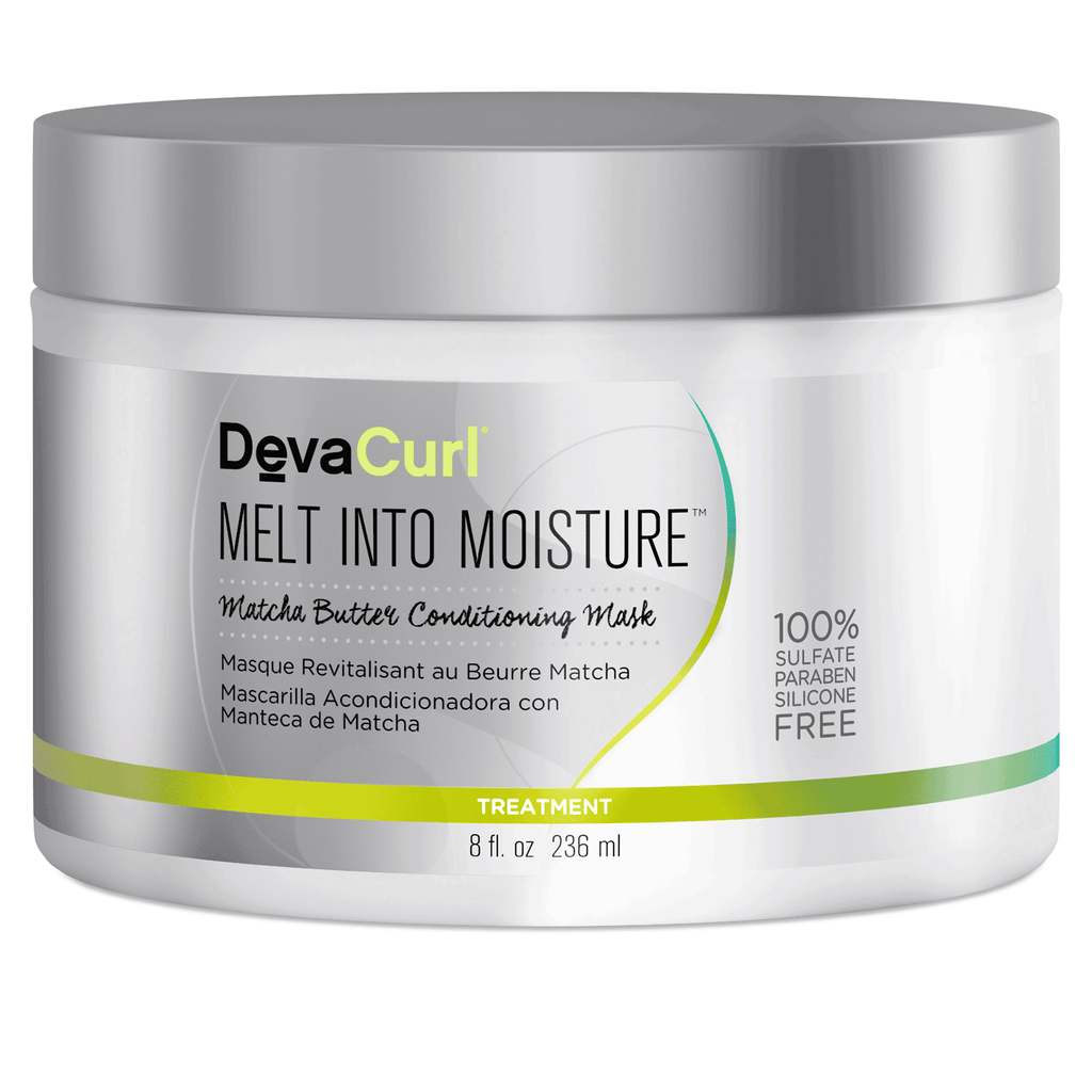Deva Curl Melt Into Moisture Matcha Butter Conditioning Mask 8 oz
