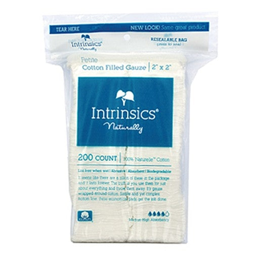 "Intrinsics Petite Cotton Filled Gauze 2""x2"" 200 Count 401410"