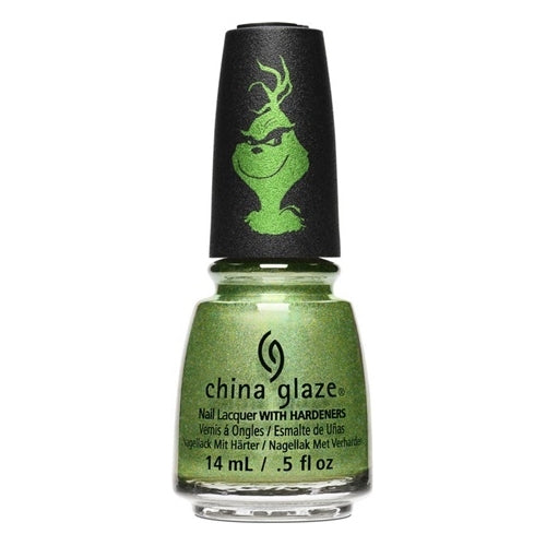 China Glaze Grinchworthy 0.5 oz/15ml
