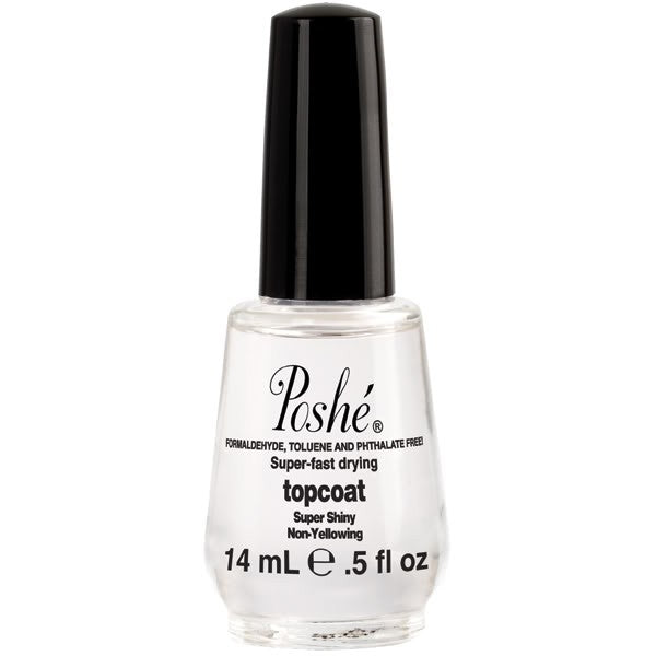 Poshe Fast Drying Shine & Gloss Top Coat 14ml/0.5 oz -301018
