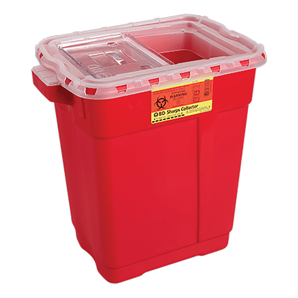 BD Sharps Collector Jar 1 QT BD305635