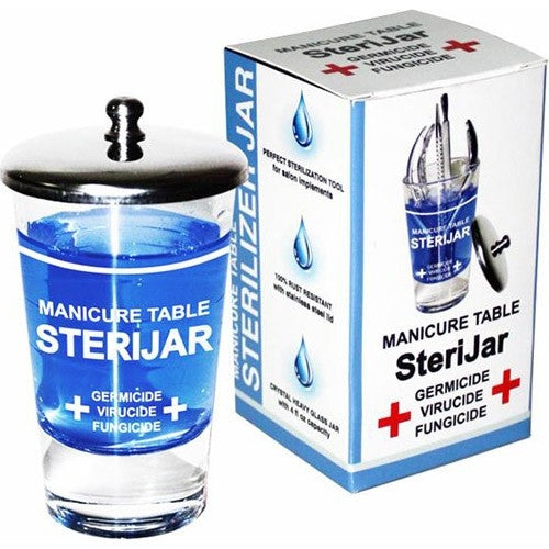 Berkeley Manicure Table SteriJar W/4 fl oz Capacity ST405-S