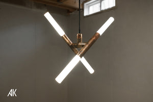 Cross Pendant Ceiling Light