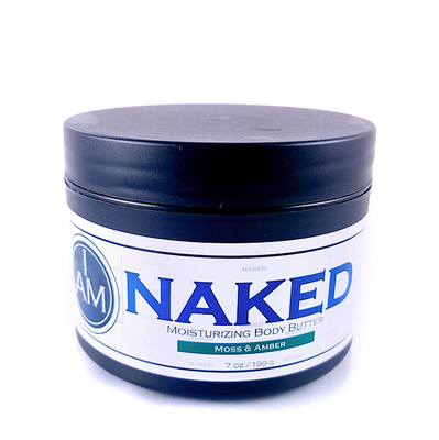 I AM Naked - Moisturizing Body Butter<br>Moss & Amber