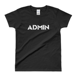 ADMIN Ladies' T-shirt