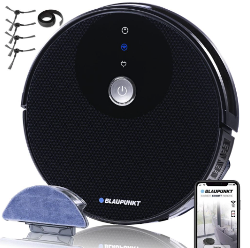 Focus on the More Important Things With Bluebot Robot Vacuum & Mop