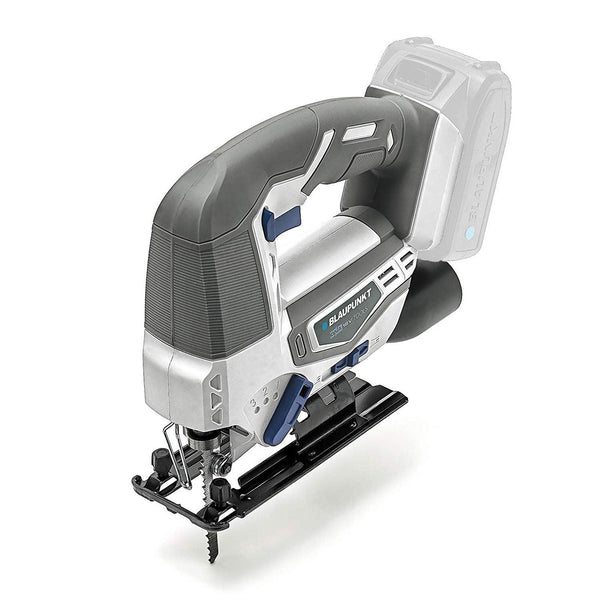Blaupunkt Cordless Jigsaw BP5242K - Li-Ion 18V - 3 Pendulum Settings - Quick Change Blade - 0-45° Cutting Angles – (No Battery or Charger)