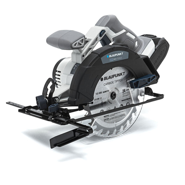 Blaupunkt 18V Li-ion Cordless Circular Saw - 165mm -  4Ah Battery - Fast Charger