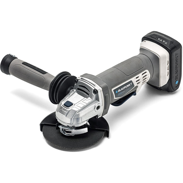 "Blaupunkt Cordless Angle Grinder - 115mm (4.5"") - 1x 4Ah 18V Li-ion Battery - 1x Fast Charger"