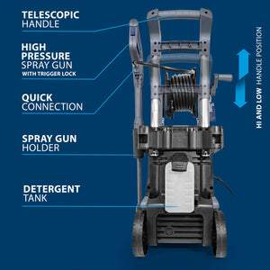 Pressure Washer PW7200i with 2100W Aluminium Induction Pump *B-GRADE*