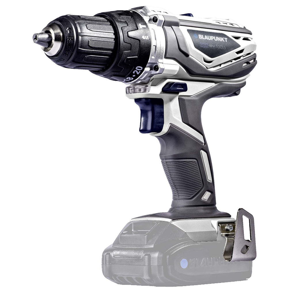 Blaupunkt Cordless Combi Drill BP6310C - Li-Ion 18V - 13mm Keyless Chuck - Drill, Hammer and Screwdriver Functions - (No Battery or Charger)