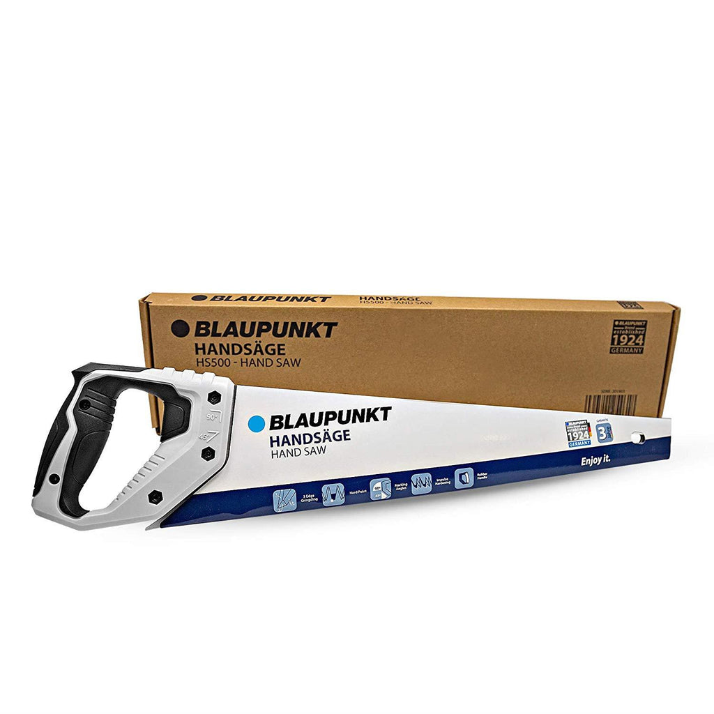 "Blaupunkt HS500 Hand Saw for Wood - Carbon Steel - 7tpi - 50cm (20"")"